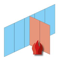 Brandlast materialien